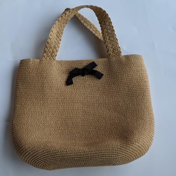 Talbots Handbags - Talbot's Woven Handbag